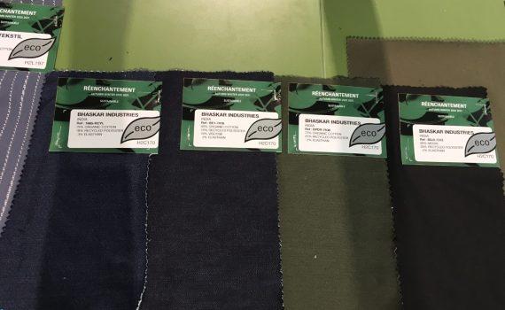 """Eco"" materiaaleja Avantex-messuilla"