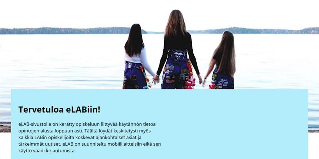 Kuva eLAB-sivustosta