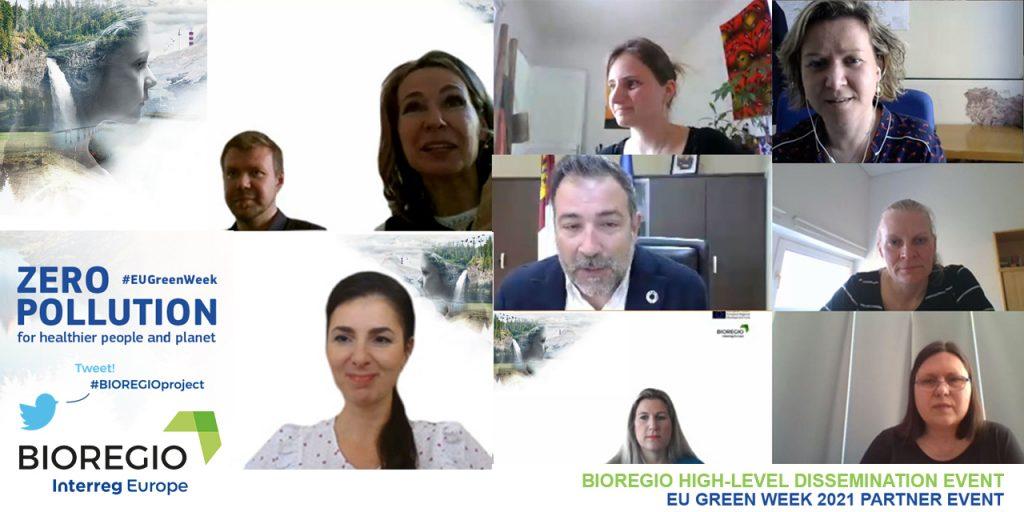 a mosaic of BIOREGIO project partners